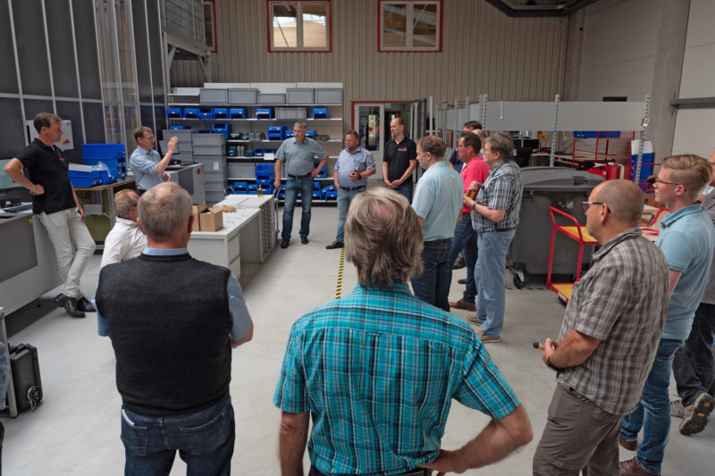 The DVGW group from Osnabrück visits Esders