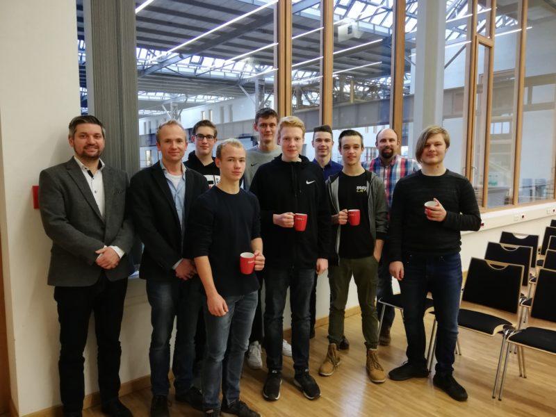 MINT-Workshop on campus in Lingen