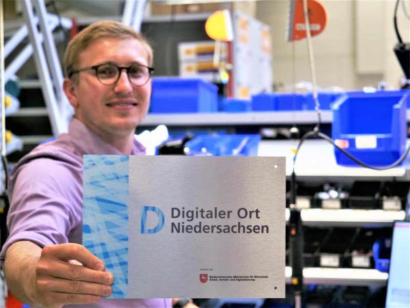 """Esders awarded as """"Digital Place Lower Saxony"""""""
